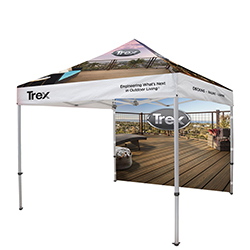 10' x 10' EVENT TENT WITH BACK WALL