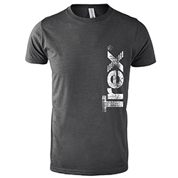HEATHER CHARCOAL SOFT STYLE TEE