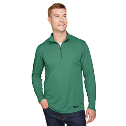 HEATHER PERFORMANCE 1/4 ZIP - MEN'S