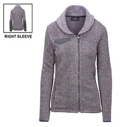 SWEATER FLEECE JACKET - LADIES