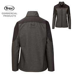 BONDED SOFT SHELL JACKET - LADIES - COMMERCIAL