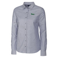 CUTTER & BUCK STRETCH OXFORD L/S - LADIES